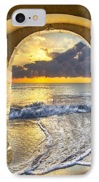 Ocean View Phone Case by Debra and Dave Vanderlaan