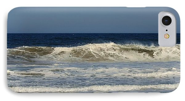 Ocean Wave - Jersey Shore IPhone Case by Angie Tirado