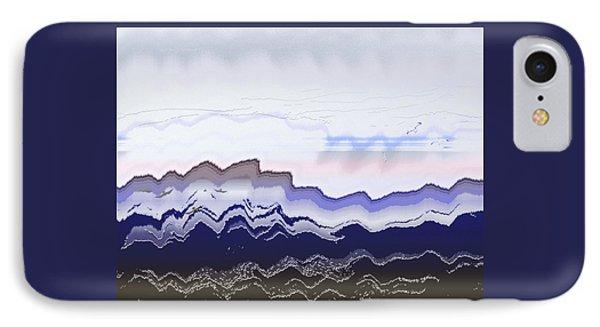 Ocean Waves IPhone Case by Lenore Senior
