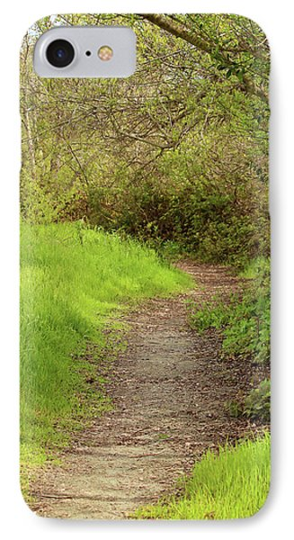 IPhone Case featuring the photograph Oceano Lagoon Trail by Art Block Collections