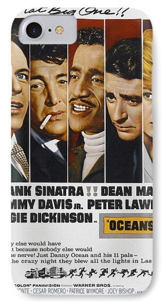 Ocean's 11 Movie Lobby Poster  1960 IPhone Case