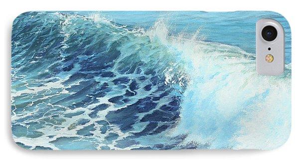 Ocean's Might IPhone Case by Joe Mandrick