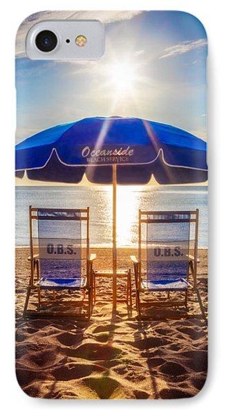 Oceanside IPhone Case by Debra and Dave Vanderlaan