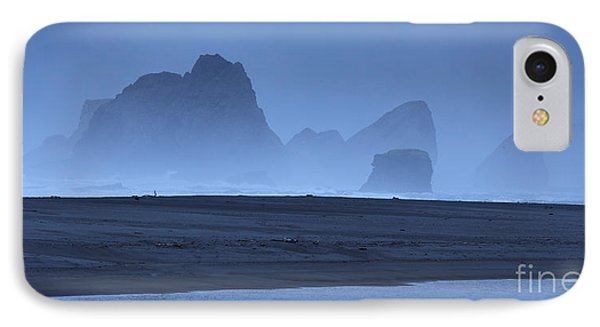 IPhone Case featuring the photograph Oceanside Hoodoos Along The Oregon Coast by Max Allen