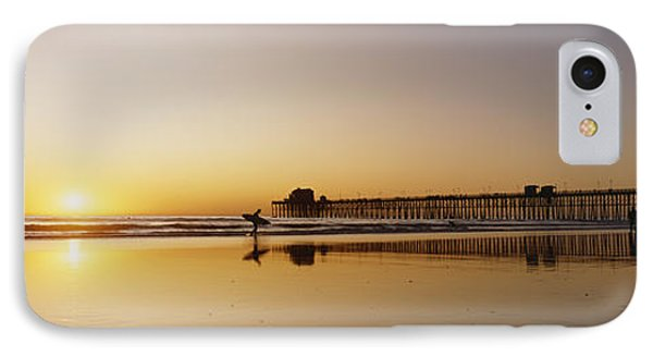 Oceanside Pier, California Phone Case by Bill Schildge - Printscapes