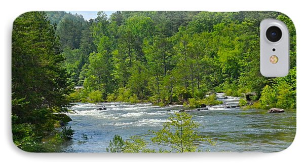 Ocoee River IPhone Case by Carol  Bradley