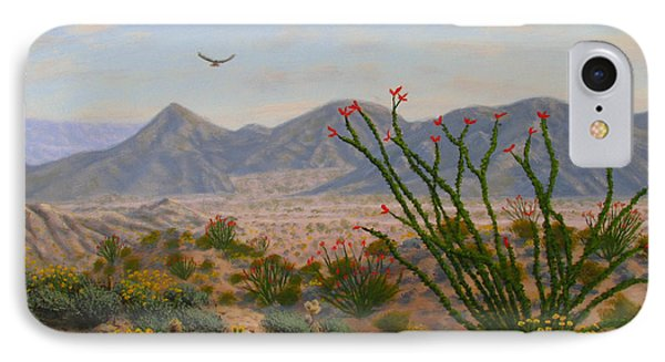 Ocotillo Paradise Phone Case by Mark Junge