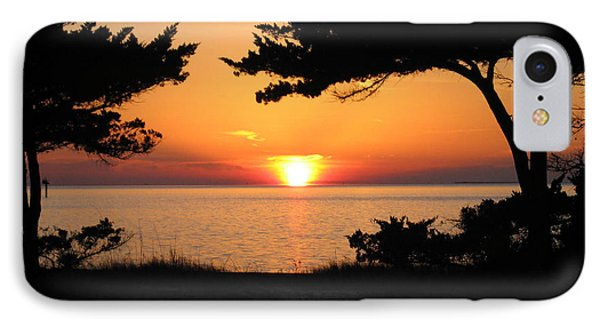 Ocracoke Island Winter Sunset IPhone Case