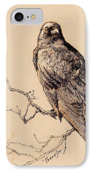October Crow IPhone Case