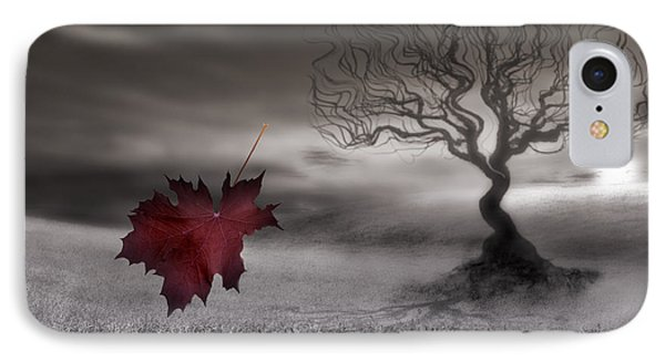 October Fades IPhone Case