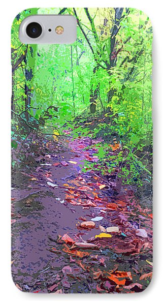 October Forest Pathway IPhone Case