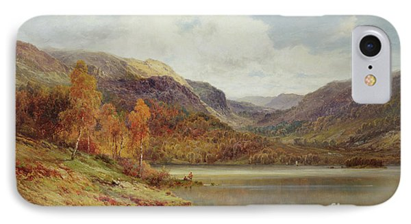 October In The Highlands IPhone Case