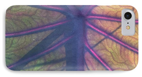 IPhone Case featuring the photograph October Leaf by Peg Toliver