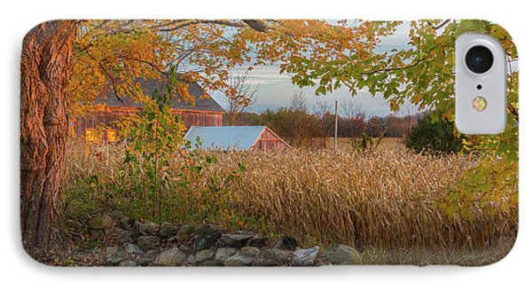 IPhone 7 Case featuring the photograph October Morning 2016 by Bill Wakeley