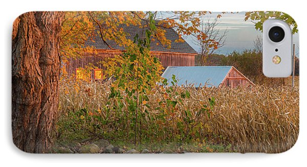 IPhone 7 Case featuring the photograph October Morning 2016 Square by Bill Wakeley