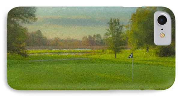 October Morning Golf IPhone Case