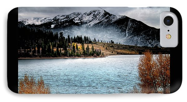IPhone Case featuring the photograph October Morning by Jim Hill