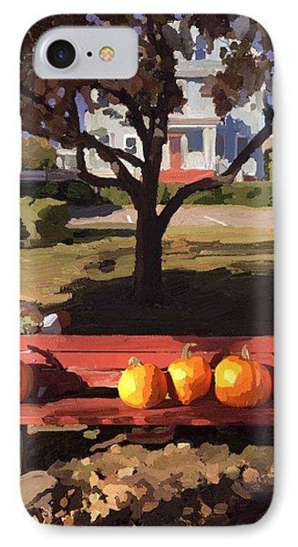 October Pumpkins IPhone Case