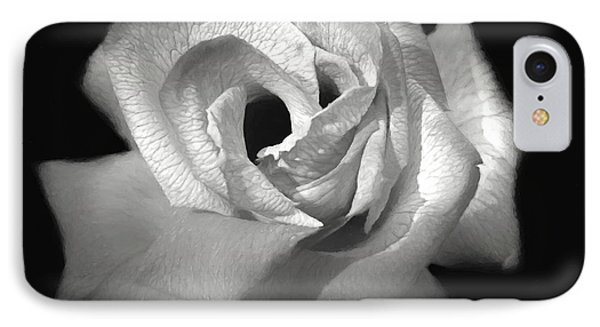 IPhone Case featuring the photograph October Rose by Donna Kennedy