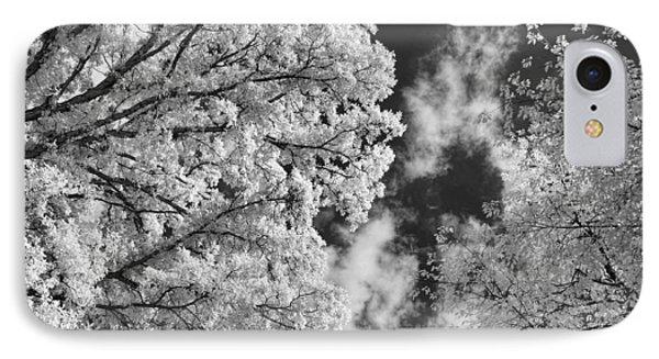 October Sky Ir IPhone Case by Michael McGowan