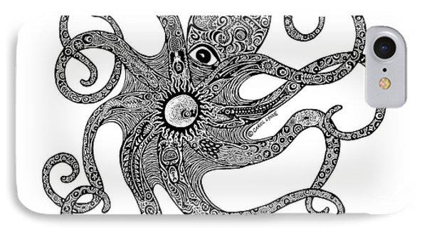 Octopus Phone Case by Carol Lynne