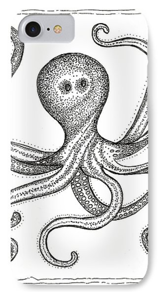 Octopus IPhone Case by Stephanie Troxell