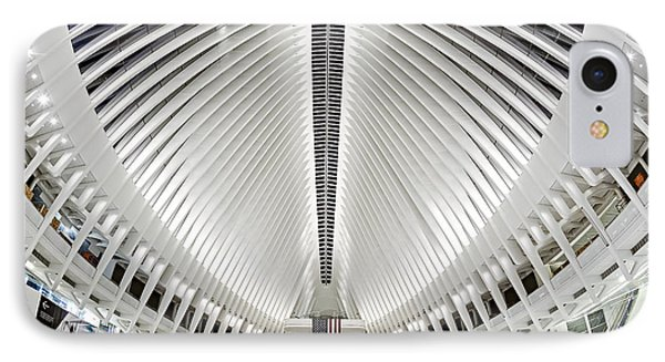 Oculus World Trade Center Wtc Hub IPhone Case by Susan Candelario