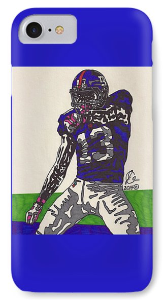 Odell Beckham Jr  IPhone Case by Jeremiah Colley