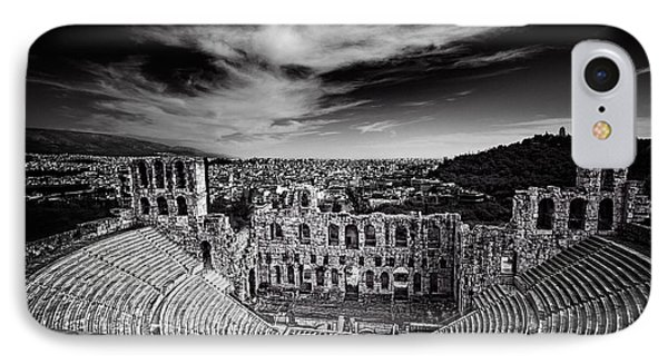 Odeon Of Herodes Atticus IPhone Case by Ian Good