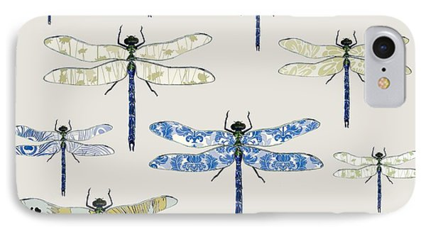 Odonata IPhone Case by Sarah Hough