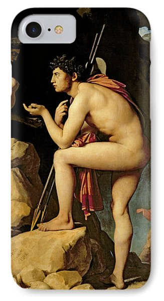 Oedipus And The Sphinx Phone Case by Jean Auguste Dominique Ingres