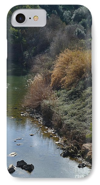 Oeiras Creek And Vegetation In Alentejo IPhone Case