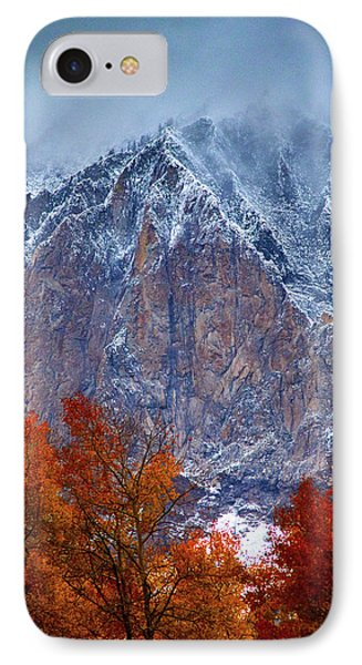 Of Fire And Ice IPhone Case by John De Bord