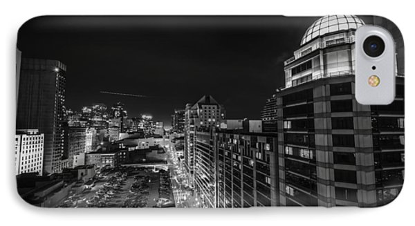 O'farrell Street IPhone Case by Phil Fitzgerald