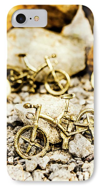 Off Road Bike Trinkets IPhone Case by Jorgo Photography - Wall Art Gallery