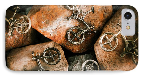 Off-road Cycling IPhone Case by Jorgo Photography - Wall Art Gallery