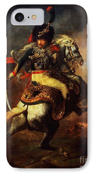 Officer Of The Hussars IPhone Case by Theodore Gericault