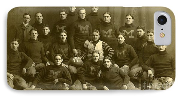 Official Photograph Of 1899 Michigan Wolverines Football Team IPhone Case