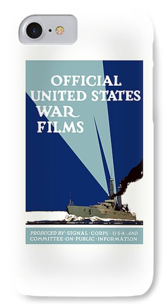 Official United States War Films Phone Case by War Is Hell Store
