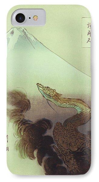 Ogata Gekko Dragon IPhone Case by Robert G Kernodle