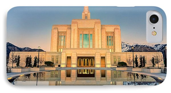 Ogden Lds Temple IPhone Case