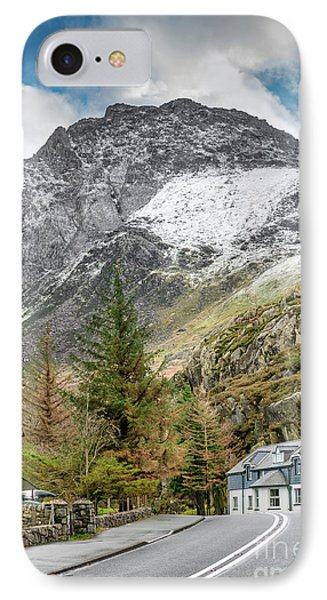 Ogwen Cottage IPhone Case by Adrian Evans