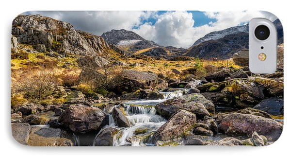 Ogwen Valley Rapids IPhone Case