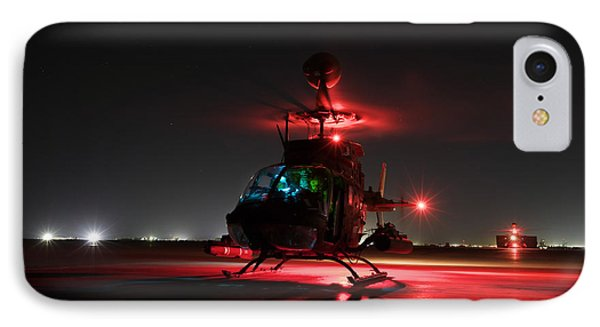 Oh-58d Kiowa Pilots Run Phone Case by Terry Moore
