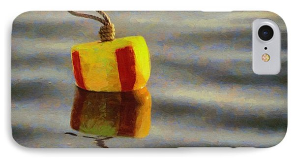 IPhone Case featuring the painting Oh Buoy by Jeff Kolker
