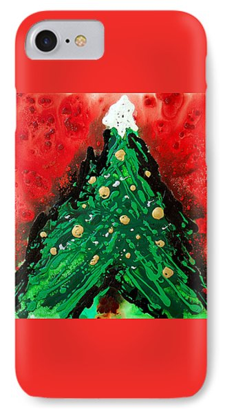 Oh Christmas Tree IPhone Case by Sharon Cummings