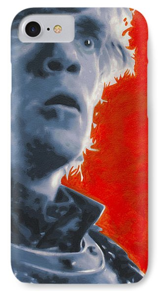 IPhone Case featuring the painting Tyrion Lannister by Luis Ludzska