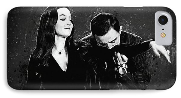Oh Tish I Love It When You Speak French - The Addams Family  IPhone Case