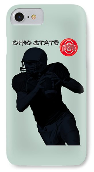 Ohio State Football Phone Case by David Dehner