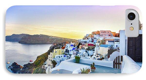Oia, Santorini - Greece IPhone Case